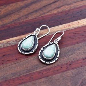 ‼️Clearance‼️925 Amazonite Earrings